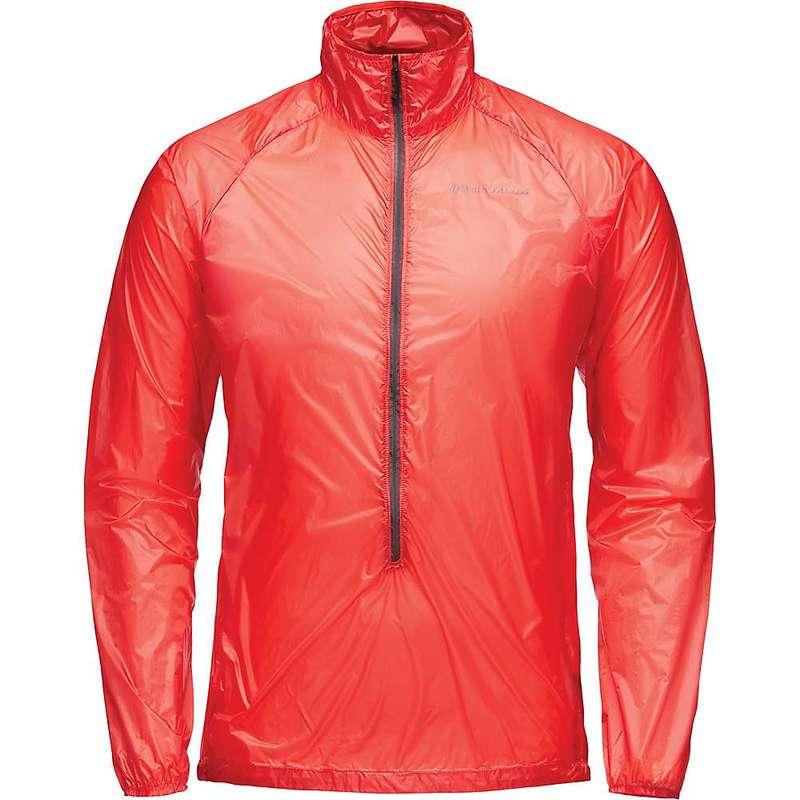 ブラックダイヤモンド メンズ ジャケット・ブルゾン アウター Black Diamond Men's Deploy Wind Shell Jacket Hyper Red