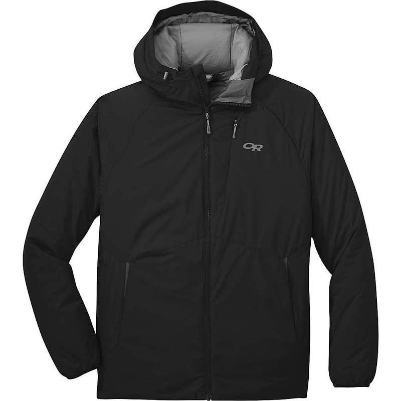アウトドアリサーチ メンズ ジャケット・ブルゾン アウター Outdoor Research Men's Refuge Hooded Jacket Black