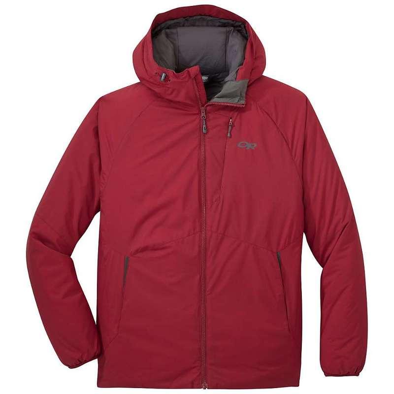 アウトドアリサーチ メンズ ジャケット・ブルゾン アウター Outdoor Research Men's Refuge Hooded Jacket Retro Red