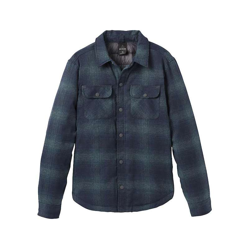 プラーナ メンズ ジャケット・ブルゾン アウター Prana Men's Showdown Jacket Grey Blue
