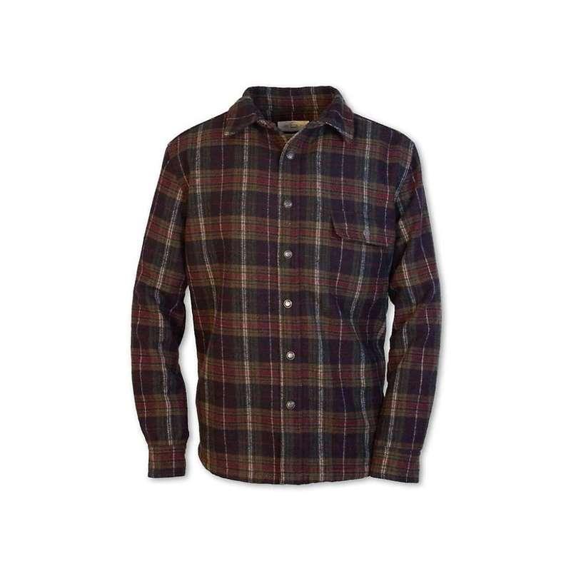 パーネル メンズ ジャケット・ブルゾン アウター Purnell Men's Galatea Shirt Jacket Burgundy / Olive