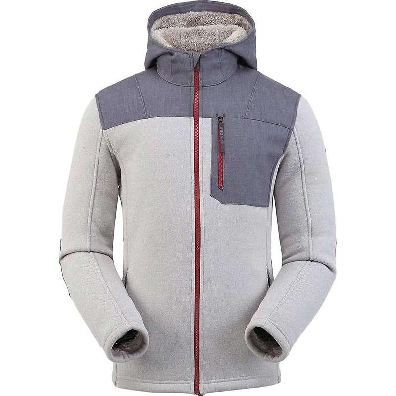 スパイダー メンズ ジャケット・ブルゾン アウター Spyder Men's Alps Full Zip Hoodie Fleece Jacket Alloy