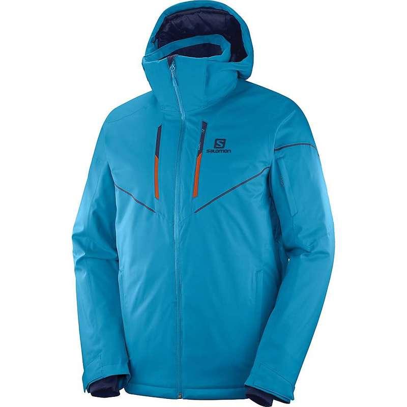 サロモン メンズ ジャケット・ブルゾン アウター Salomon Men's Stormrace Jacket Fjord Blue