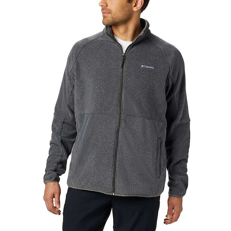 コロンビア メンズ ジャケット・ブルゾン アウター Columbia Men's Basin Trail Fleece Full Zip Charcoal Heather