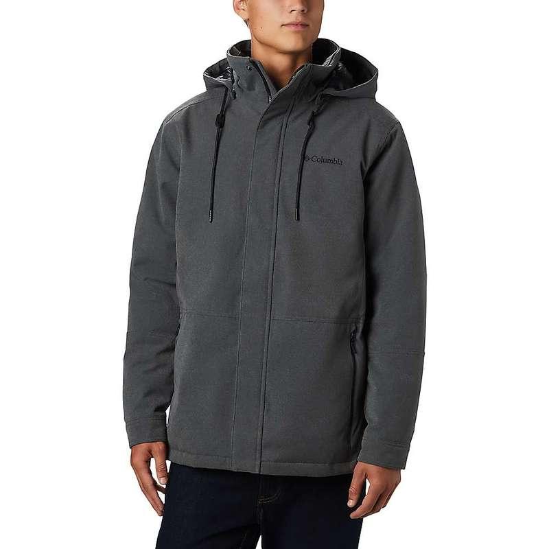 コロンビア メンズ ジャケット・ブルゾン アウター Columbia Men's Boundary Bay Hybrid Jacket City Grey Heather