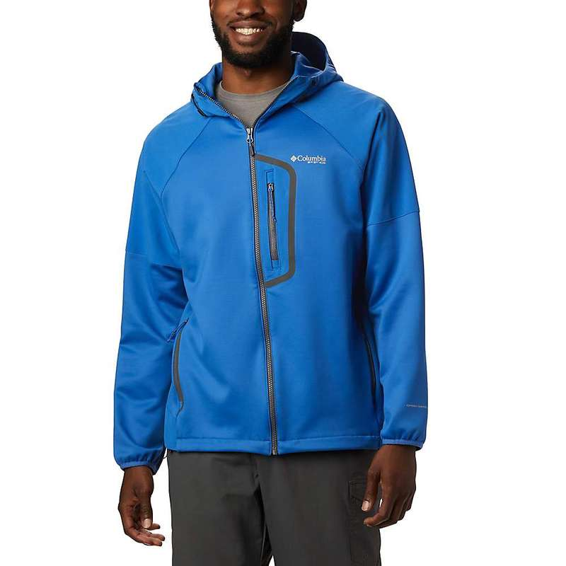 コロンビア メンズ ジャケット・ブルゾン アウター Columbia Men's Force XII Fleece Jacket Vivid Blue