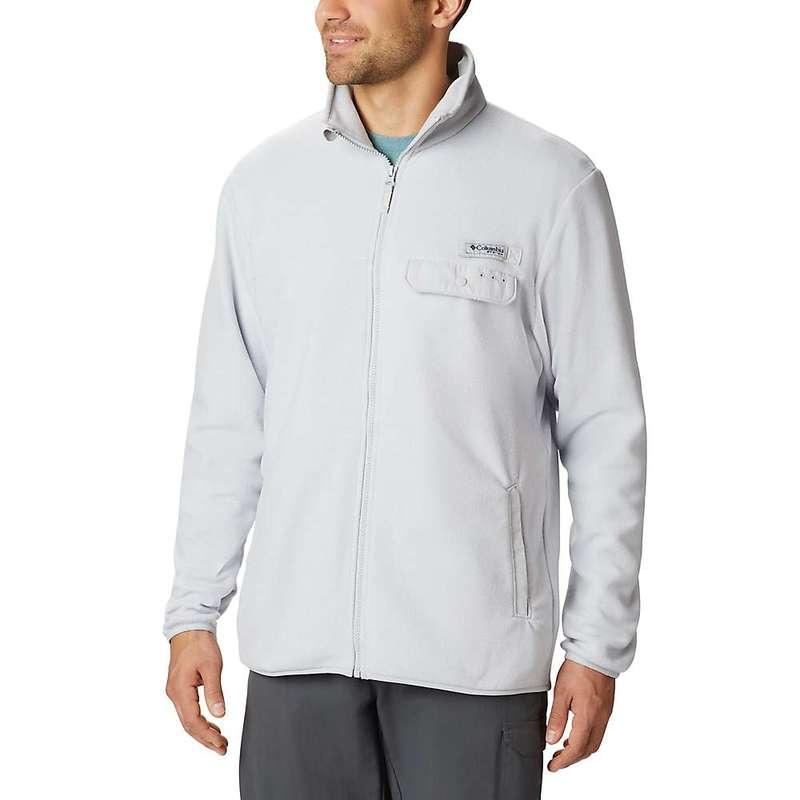 コロンビア メンズ ジャケット・ブルゾン アウター Columbia Men's Harborside II Fleece Pullover Cool Grey Heather