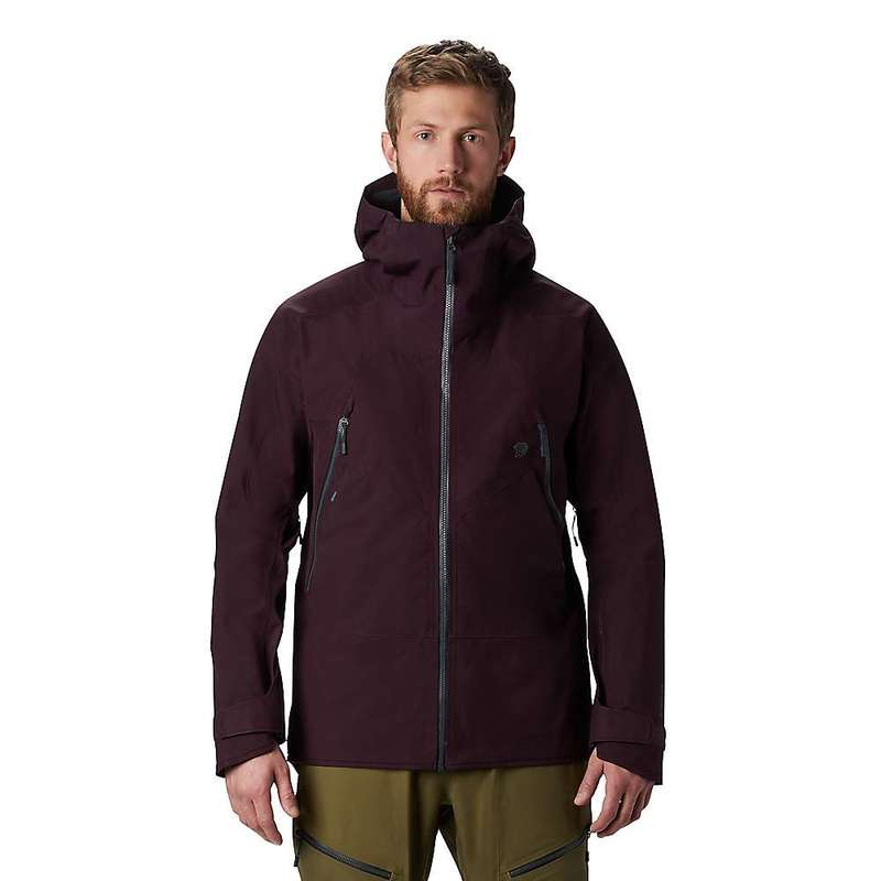 マウンテンハードウェア メンズ ジャケット・ブルゾン アウター Mountain Hardwear Men's Boundary Ridge GTX 3L Jacket Darkest Dawn