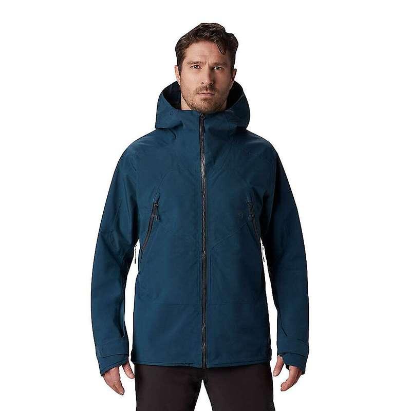 マウンテンハードウェア メンズ ジャケット・ブルゾン アウター Mountain Hardwear Men's Boundary Ridge GTX 3L Jacket Icelandic