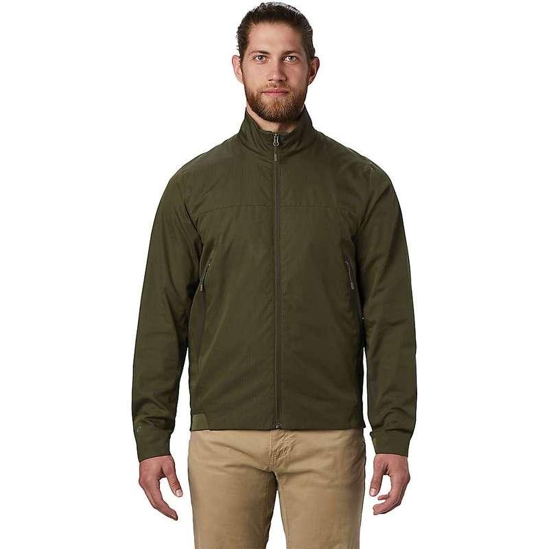 マウンテンハードウェア メンズ ジャケット・ブルゾン アウター Mountain Hardwear Men's Lightweight Cotton Lined Jacket Dark Army