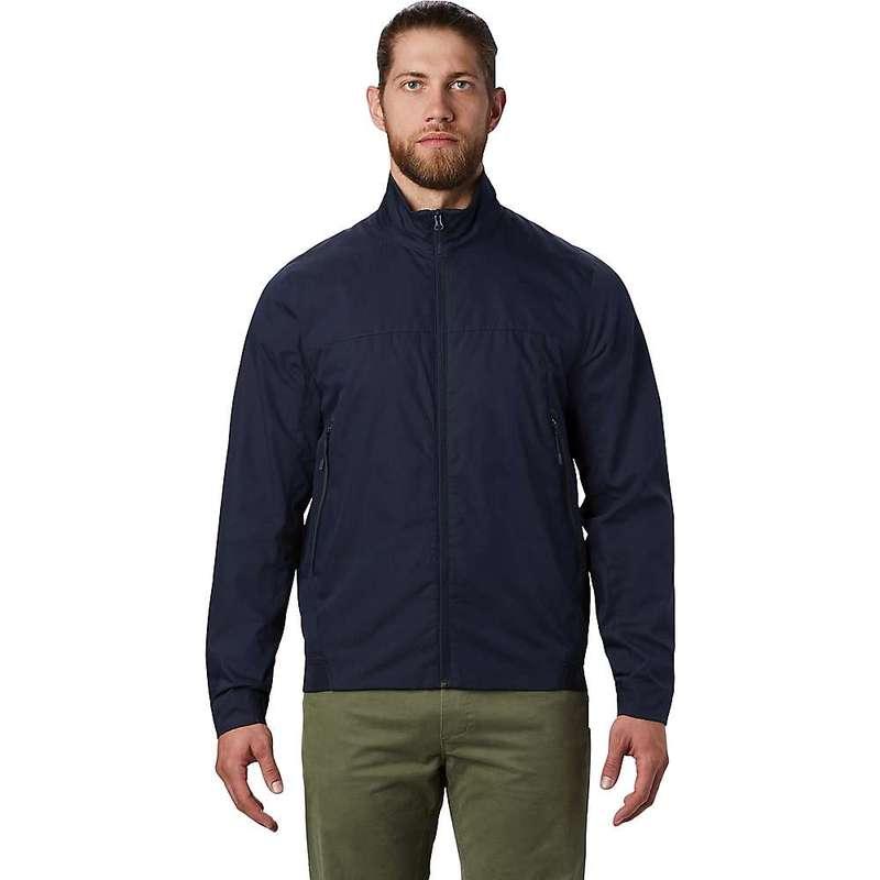 マウンテンハードウェア メンズ ジャケット・ブルゾン アウター Mountain Hardwear Men's Lightweight Cotton Lined Jacket Dark Zinc