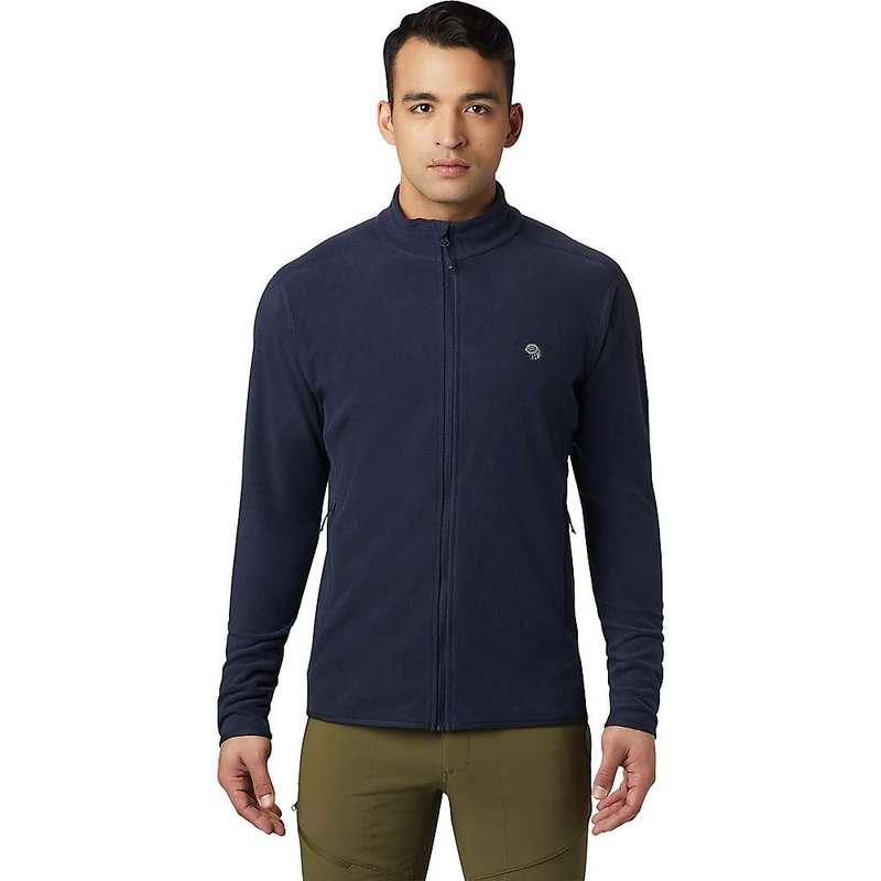 マウンテンハードウェア メンズ ジャケット・ブルゾン アウター Mountain Hardwear Men's Macrochill Full Zip Jacket Dark Zinc