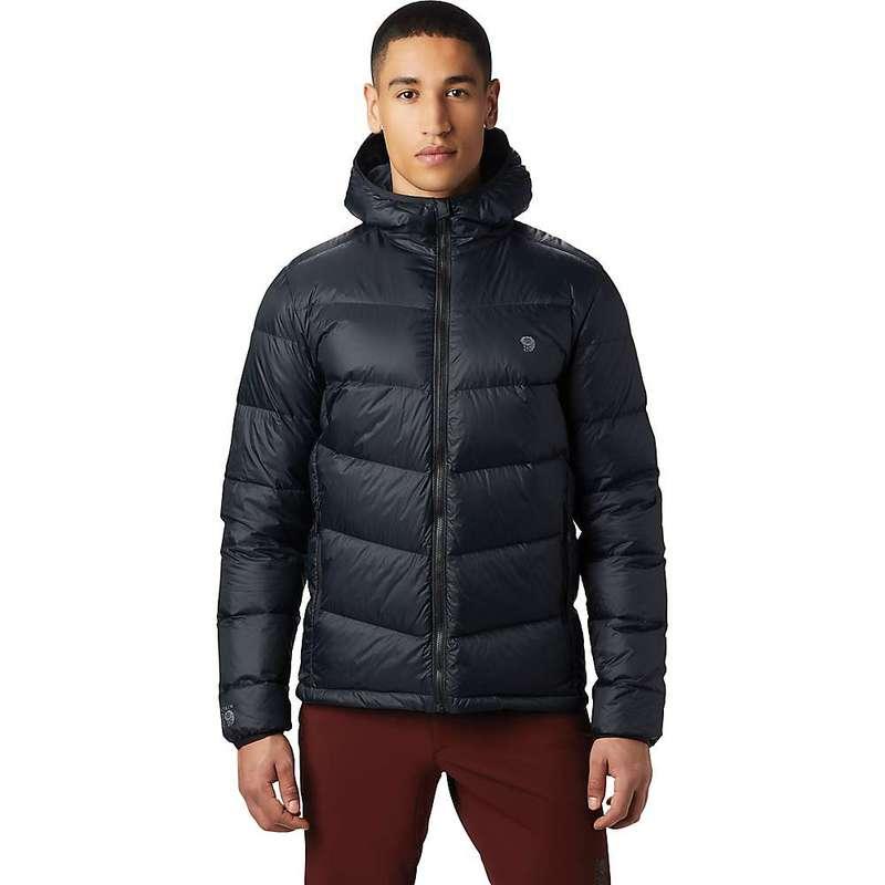 マウンテンハードウェア メンズ ジャケット・ブルゾン アウター Mountain Hardwear Men's Mt. Eyak Down Hoody Black
