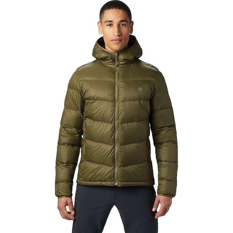 マウンテンハードウェア メンズ ジャケット・ブルゾン アウター Mountain Hardwear Men's Mt. Eyak Down Hoody Combat Green