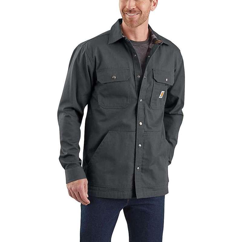 カーハート メンズ ジャケット・ブルゾン アウター Carhartt Men's Ripstop Solid Shirt Jac Shadow