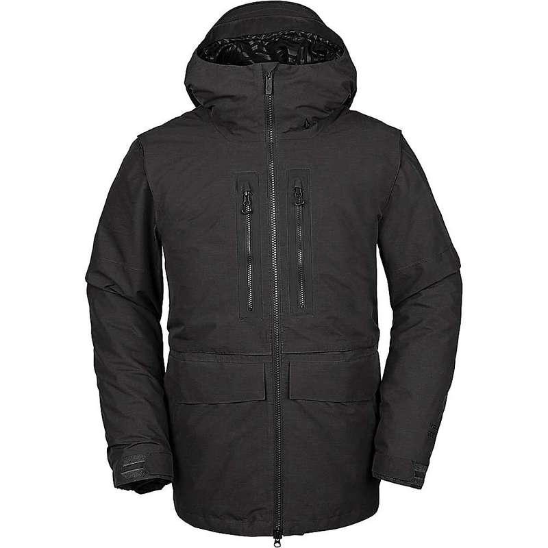 ボルコム メンズ ジャケット・ブルゾン アウター Volcom Men's Stone GTX Jacket Vintage Black