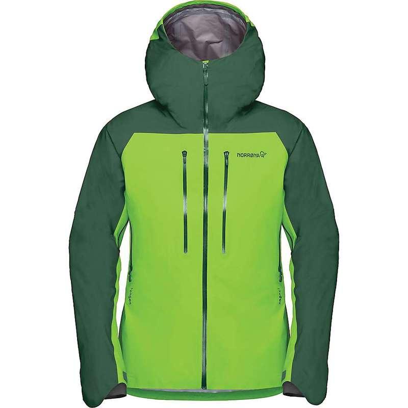 ノローナ メンズ ジャケット・ブルゾン アウター Norrona Men's Lyngen Gore-Tex Jacket Jungle Green