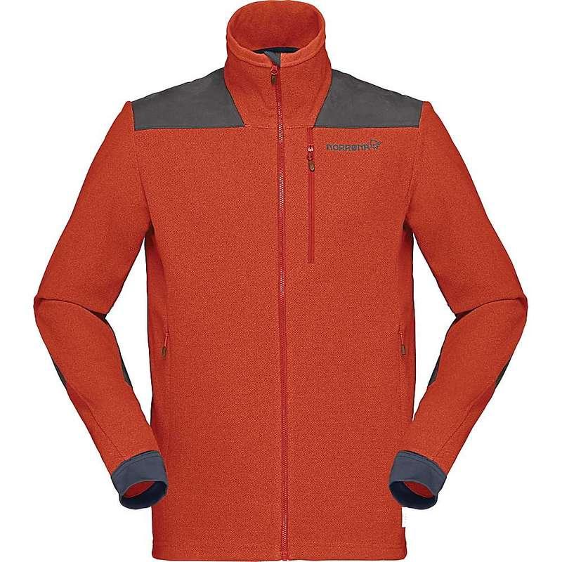 ノローナ メンズ ジャケット・ブルゾン アウター Norrona Men's Svalbard Warm1 Jacket Rooibos Tea / Slate Grey
