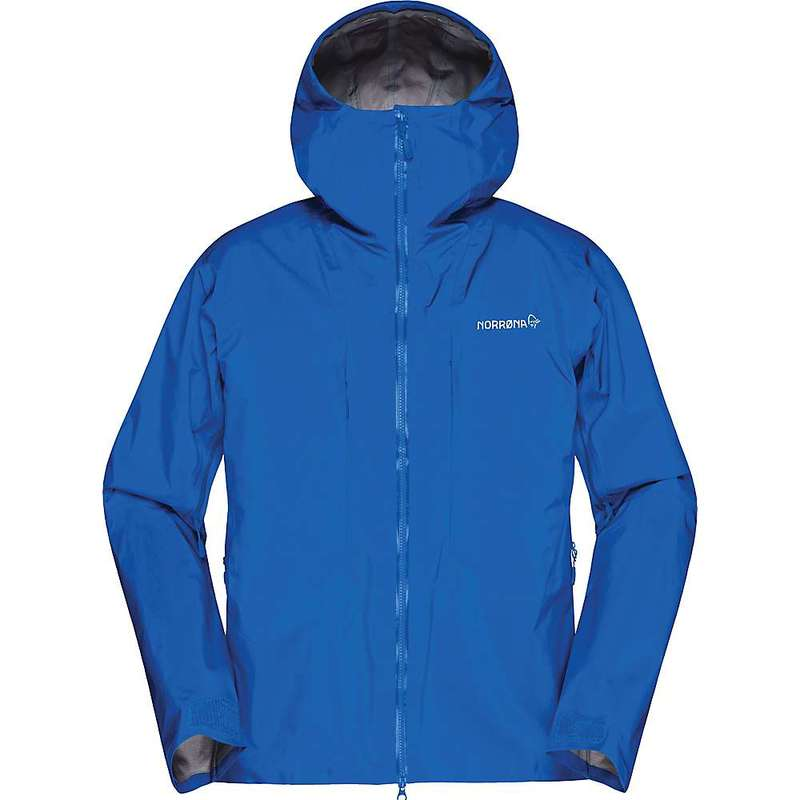ノローナ メンズ ジャケット・ブルゾン アウター Norrona Men's Trollveggen Gore-Tex Pro Light Jacket Olympian Blue