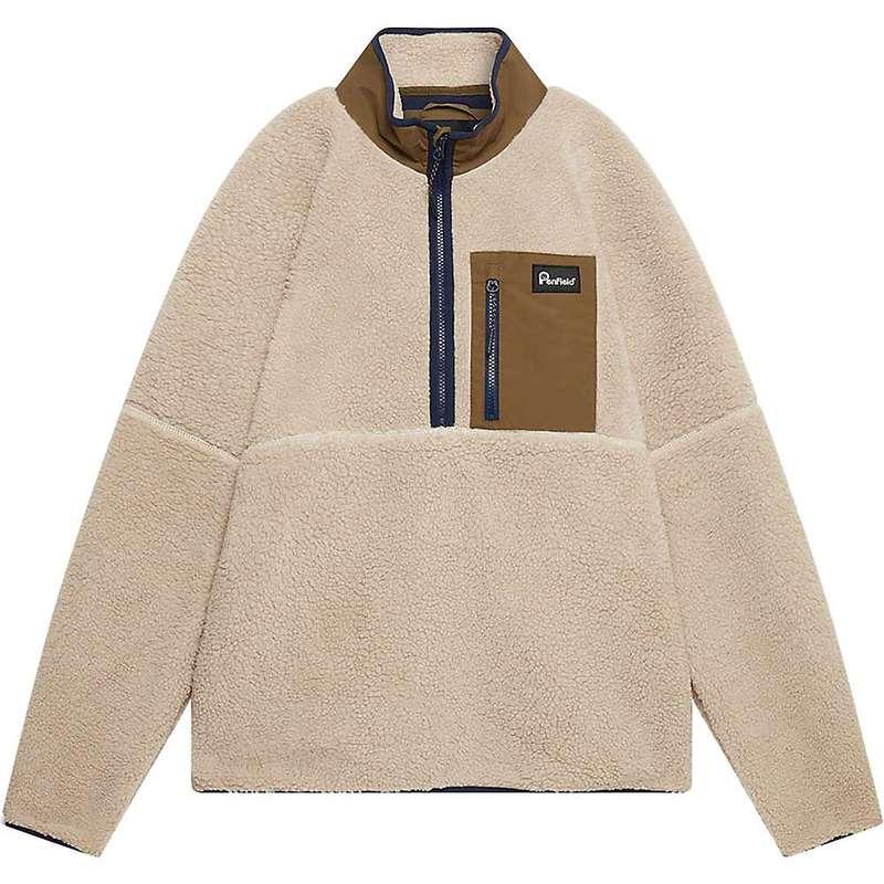 ペンフィールド メンズ ジャケット・ブルゾン アウター Penfield Men's Medford Fleece Tan