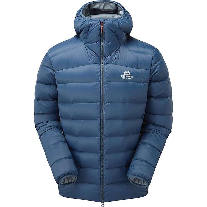 マウンテンイクイップメント メンズ ジャケット・ブルゾン アウター Mountain Equipment Men's Skyline Hooded Jacket Denim Blue