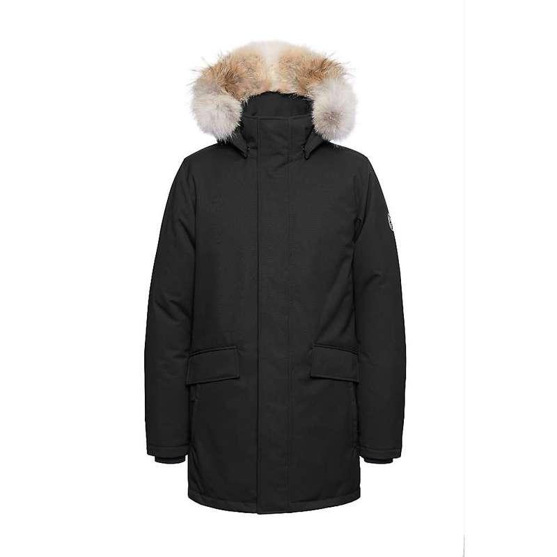 クォーツコー メンズ ジャケット・ブルゾン アウター Quartz Co Men's Champlain Jacket Black