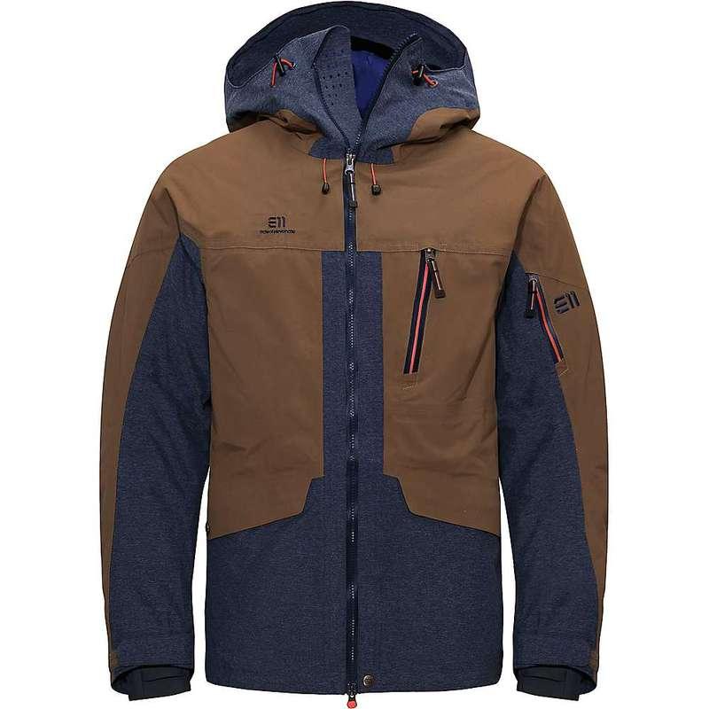 エレべネート メンズ ジャケット・ブルゾン アウター Elevenate Men's Brevent Jacket Macchiato Brown