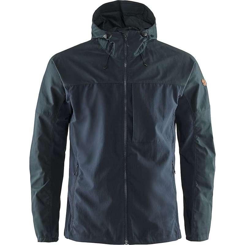 フェールラーベン メンズ ジャケット・ブルゾン アウター Fjallraven Men's Abisko Midsummer Jacket Dark Navy