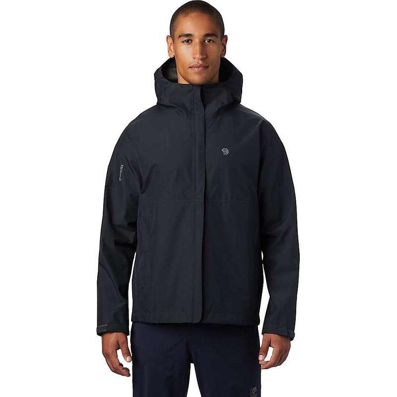 マウンテンハードウェア メンズ ジャケット・ブルゾン アウター Mountain Hardwear Men's Exposure/2 GTX Paclite Jacket Dark Storm