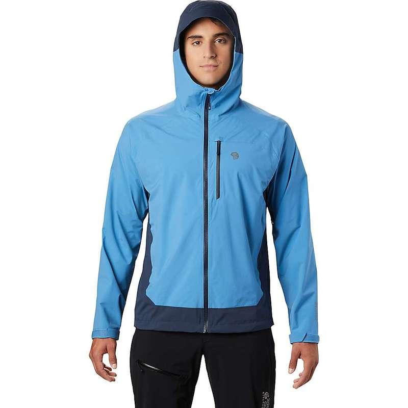 マウンテンハードウェア メンズ ジャケット・ブルゾン アウター Mountain Hardwear Men's Stretch Ozonic Jacket Deep Lake