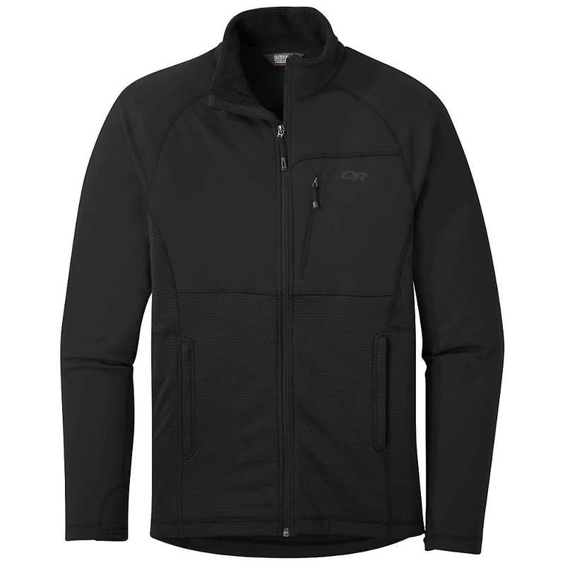 アウトドアリサーチ メンズ ジャケット・ブルゾン アウター Outdoor Research Men's Vigor Quarter Zip Jacket Black