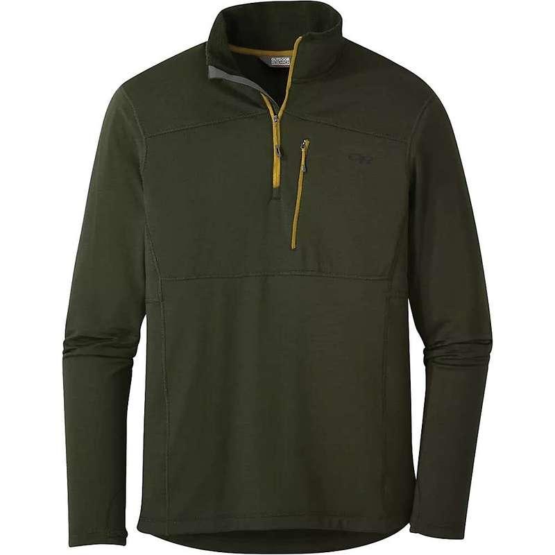 アウトドアリサーチ メンズ ジャケット・ブルゾン アウター Outdoor Research Men's Vigor Quarter Zip Jacket Forest
