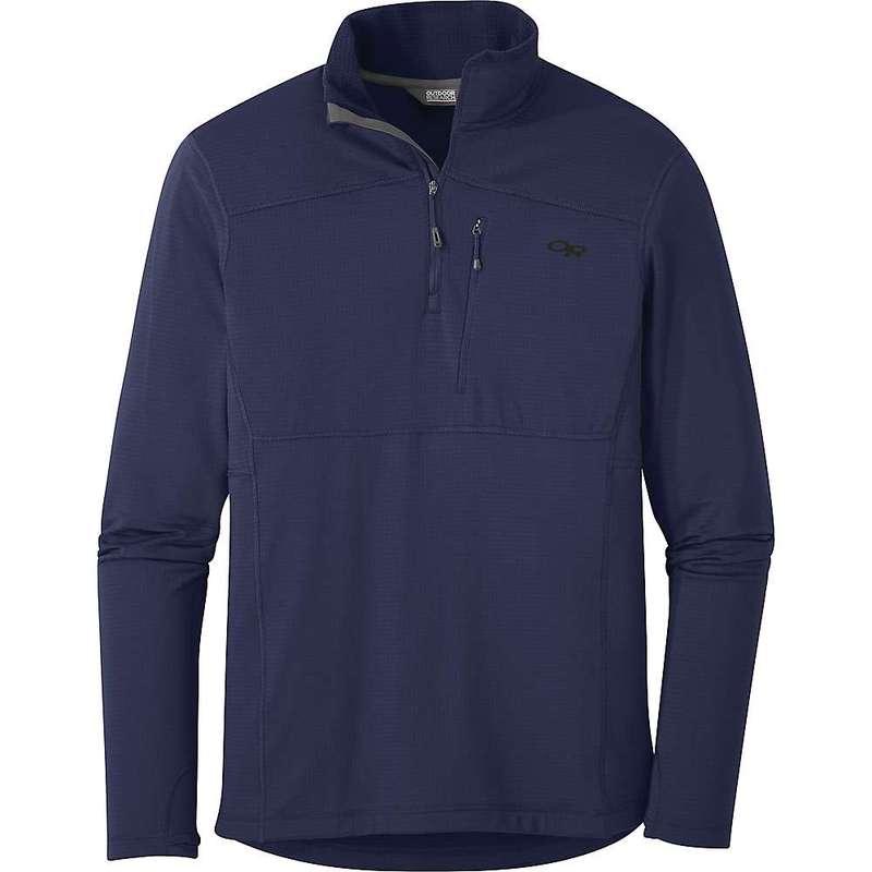 アウトドアリサーチ メンズ ジャケット・ブルゾン アウター Outdoor Research Men's Vigor Quarter Zip Jacket Twilight