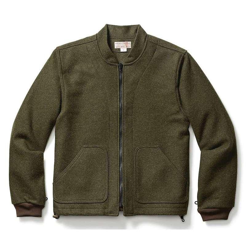 フィルソン メンズ ジャケット・ブルゾン アウター Filson Men's Wool Jacket Liner Forest Green