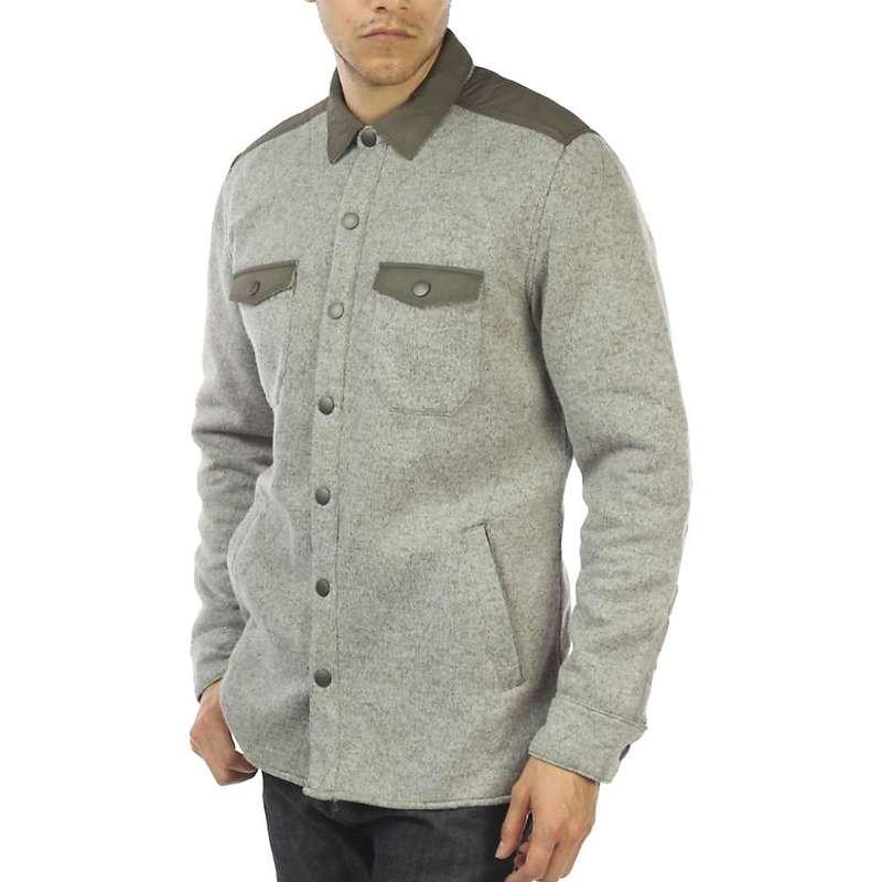 ジェレミア メンズ ジャケット・ブルゾン アウター Jeremiah Men's Tate Poly Fleece Shirt Jacket Mule Heather