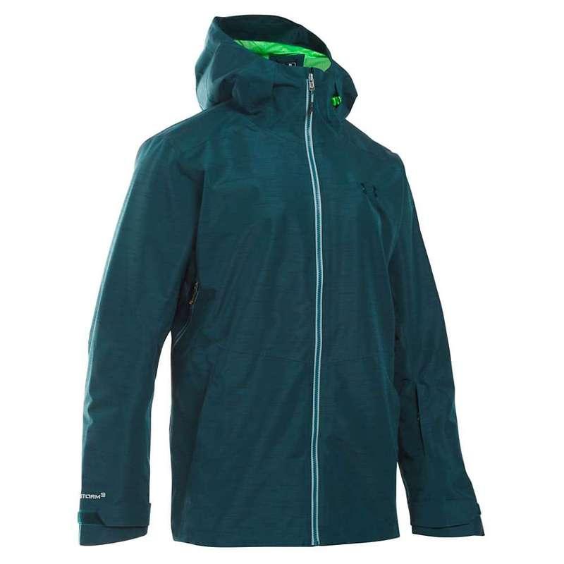 アンダーアーマー メンズ ジャケット・ブルゾン アウター Under Armour Men's UA ColdGear Infrared Haines Shell Jacket Nova Teal / Northern Lights / Overcast Grey