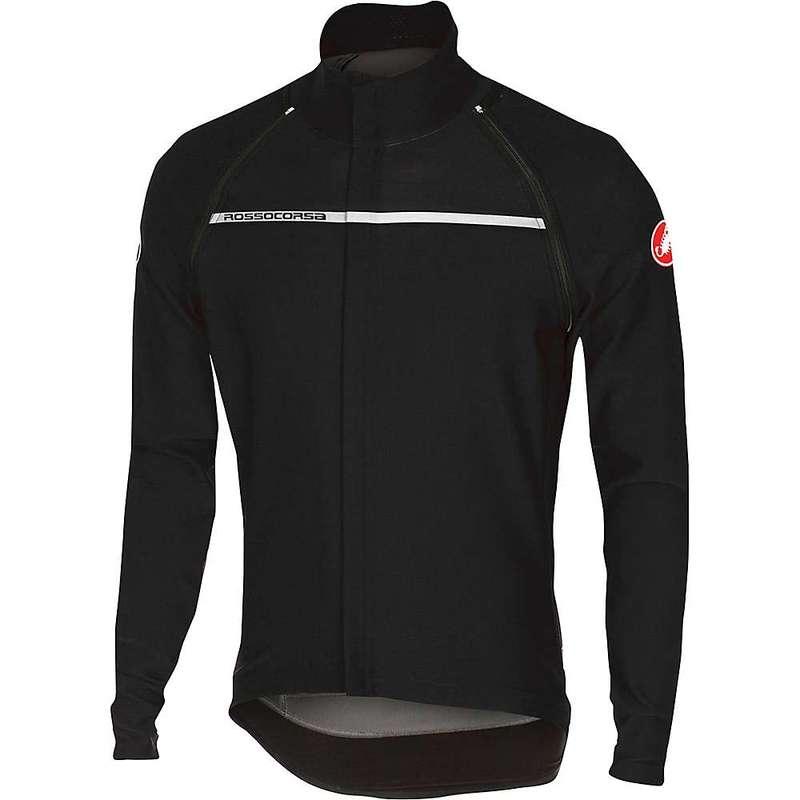 カステリ メンズ ジャケット・ブルゾン アウター Castelli Men's Perfetto Convertible Jacket Light Black