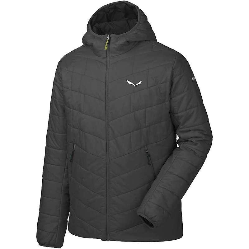 サレワ メンズ ジャケット・ブルゾン アウター Salewa Men's Fanes TW CLT Hood Jacket Black Out