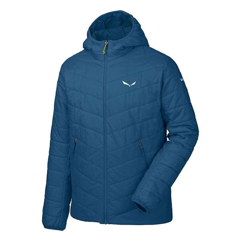 サレワ メンズ ジャケット・ブルゾン アウター Salewa Men's Fanes TW CLT Hood Jacket Poseidon