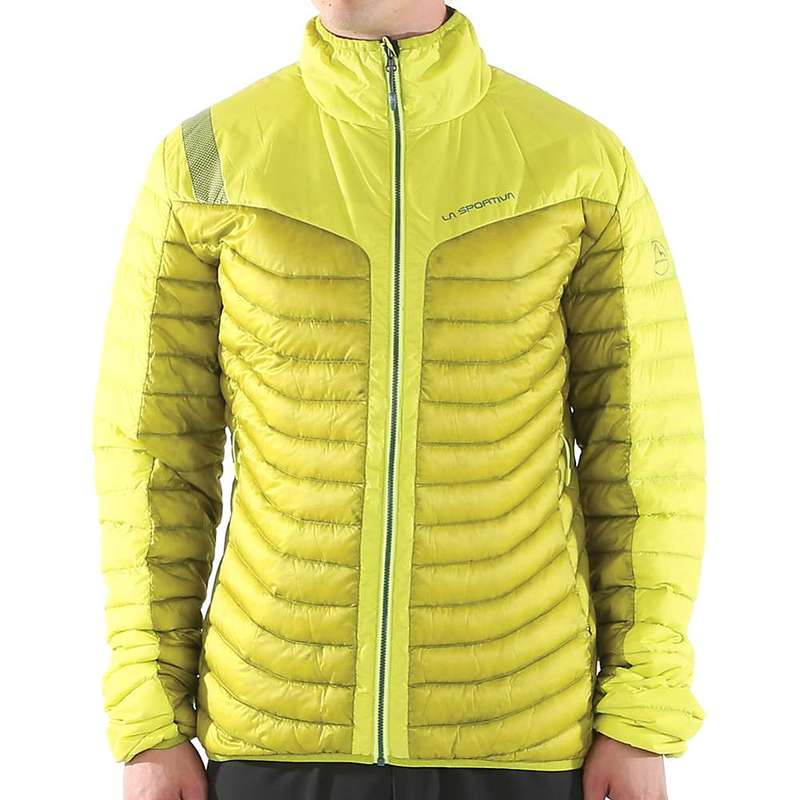 ラスポルティバ メンズ ジャケット・ブルゾン アウター La Sportiva Men's Combin Down Jacket Citronelle / Sulphur