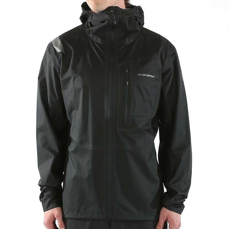 ラスポルティバ メンズ ジャケット・ブルゾン アウター La Sportiva Men's Hail Jacket Black