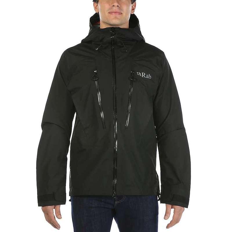 ラブ メンズ ジャケット・ブルゾン アウター Rab Men's Latok Jacket Black