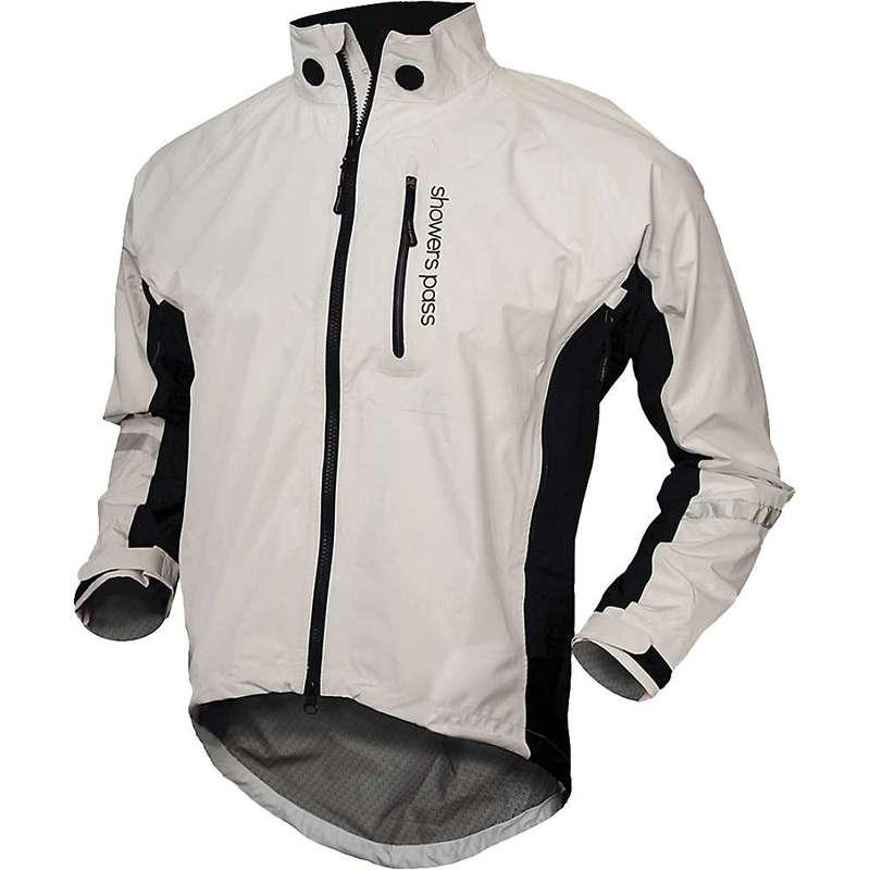 シャワーパス メンズ ジャケット・ブルゾン アウター Showers Pass Men's Double Century RTX Jacket White