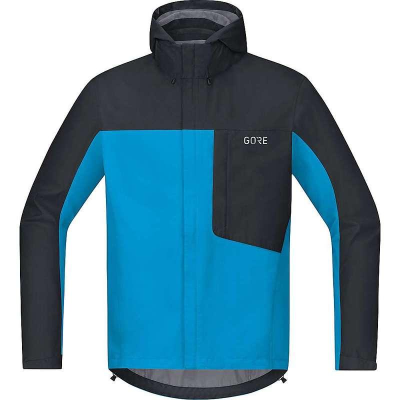 ゴアウェア メンズ ジャケット・ブルゾン アウター Gore Wear Men's Gore C3 GTX Paclite Hooded Jacket Dynamic Cyan / Black