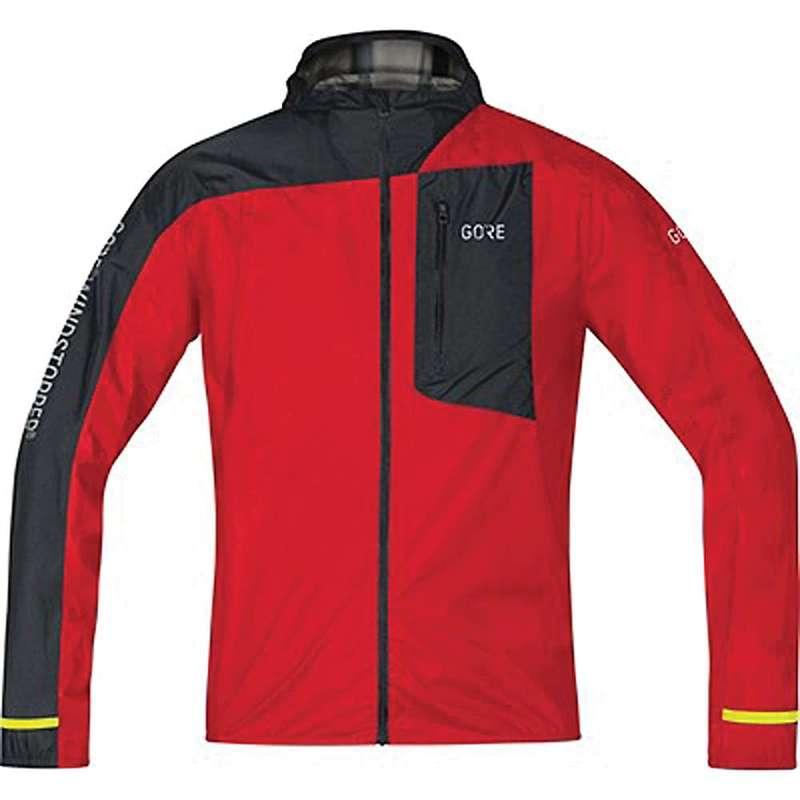 ゴアウェア メンズ ジャケット・ブルゾン アウター Gore Wear Men's R7 Gore Windstopper Light Hooded Jacket Red / Black