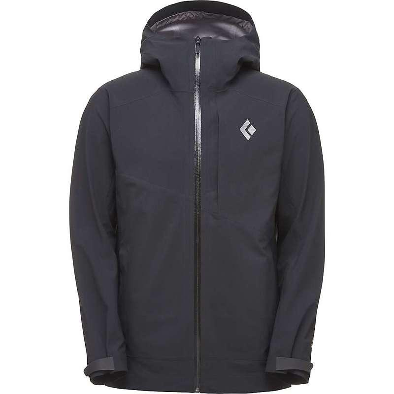 ブラックダイヤモンド メンズ ジャケット・ブルゾン アウター Black Diamond Men's Recon Stretch Ski Shell Jacket Black