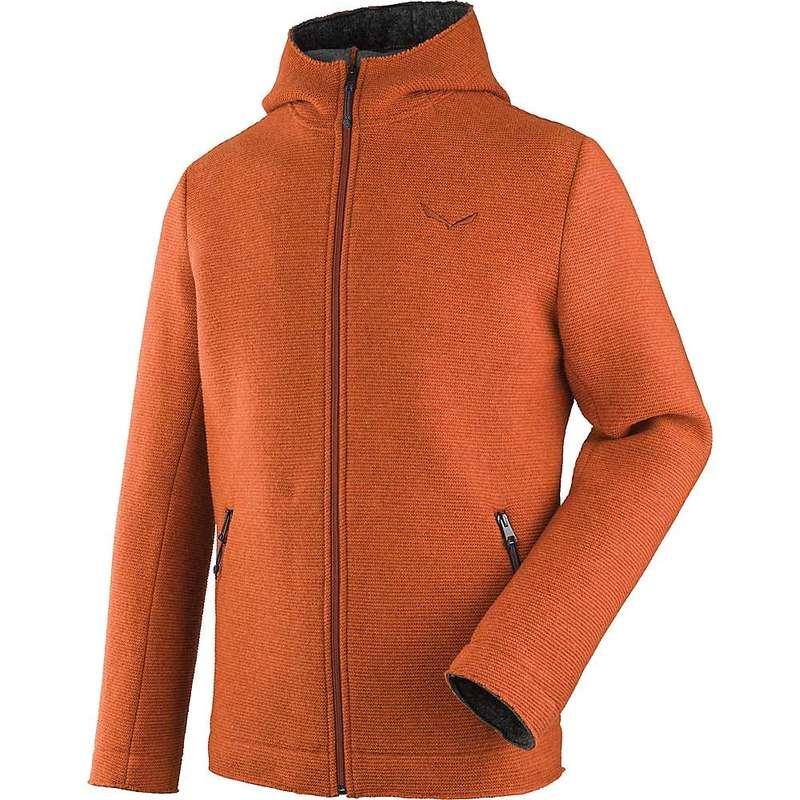 サレワ メンズ ジャケット・ブルゾン アウター Salewa Men's Sarner 2L WO Full Zip Hoody Pumpkin