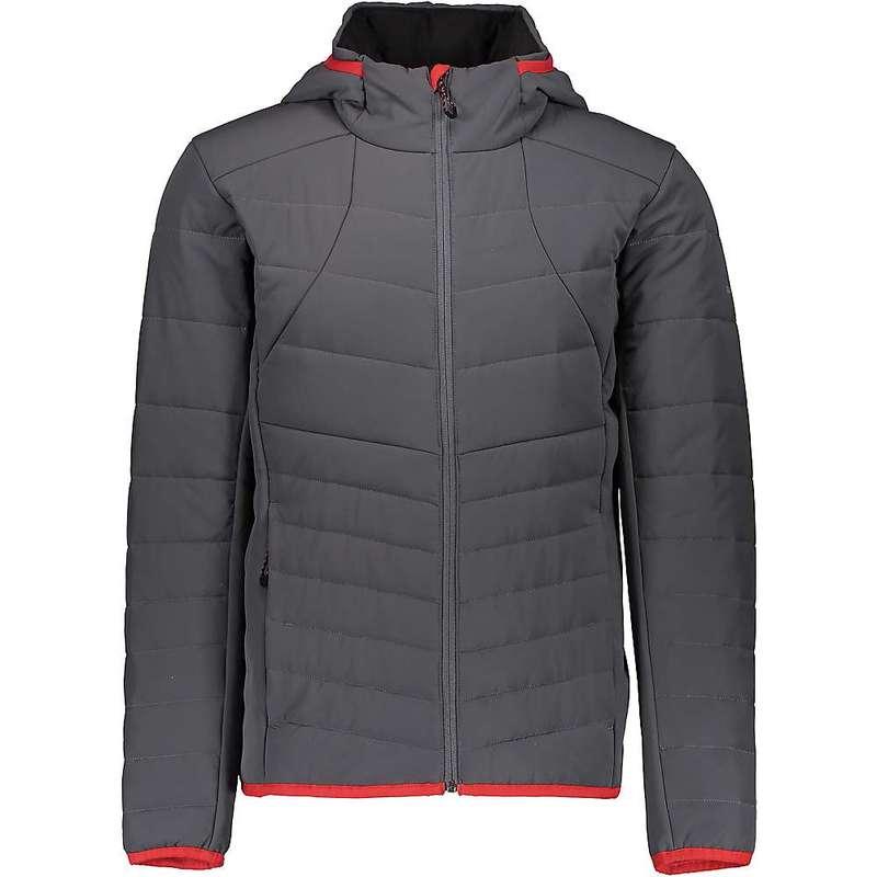 オバマイヤー メンズ ジャケット・ブルゾン アウター Obermeyer Men's Mechano Stretch Insulator Jacket Grey Matter