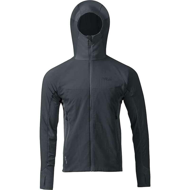 ラブ メンズ ジャケット・ブルゾン アウター Rab Men's Alpha Flux Jacket Beluga / Beluga / Ash