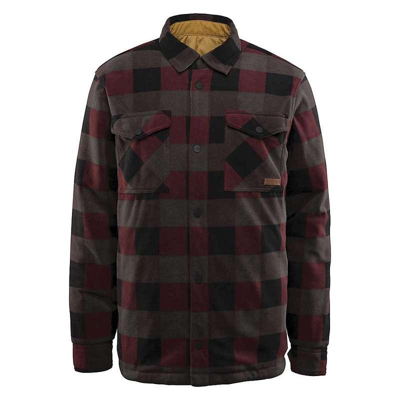 サーティーツー メンズ ジャケット・ブルゾン アウター Thirty Two Men's Drifter Reversible Fleece Jacket Olive